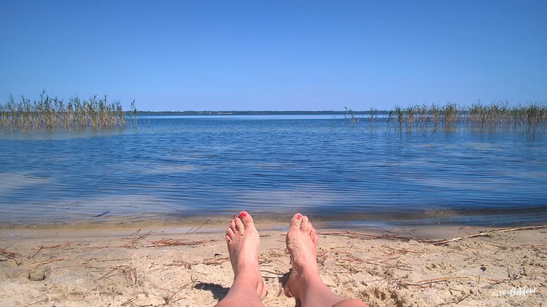 détente sur le lac d'hourtin